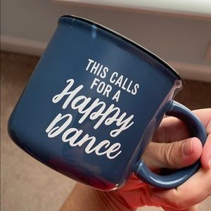 """This calls for a happy dance"" Stoneware Mug"